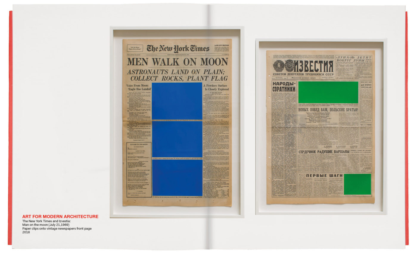 Art for Modern Architecture Man on the moon