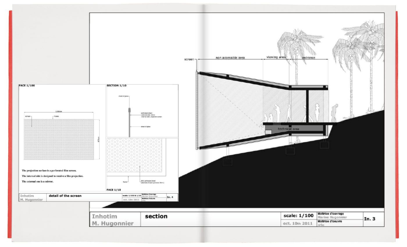 Project for a Pavilion for Inhotim (Unrealised)