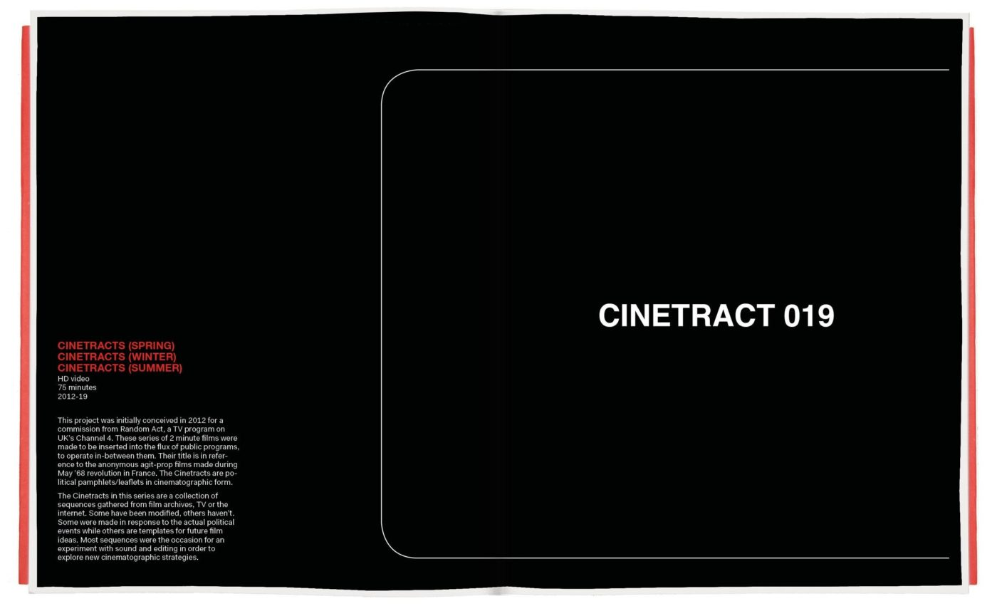 CINETRACTS (SPRING, WINTER, SUMMER)